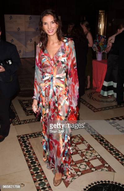 Angele Blankenstein arrives to the 9th Annual National Arts Awards Party held at Cipriani New York City