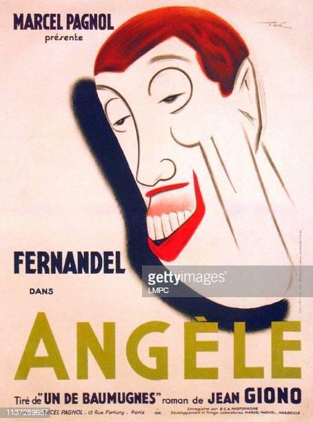 Angele poster French poster art Fernandel 1934