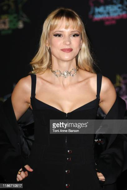 Angele Van Laeken attends the 21st NRJ Music Awards At Palais des Festivals on November 09 2019 in Cannes France