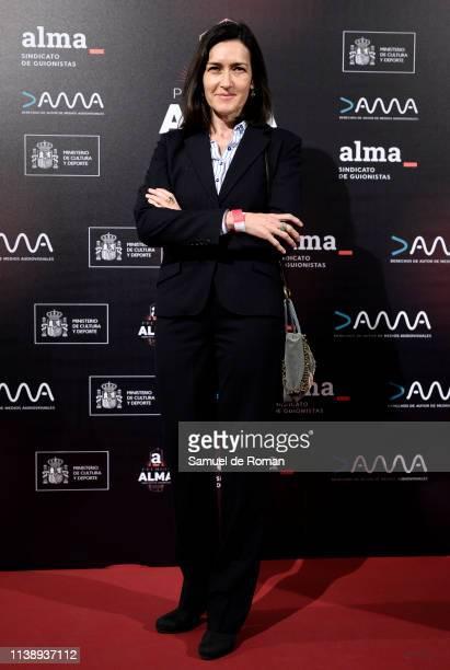 Angeles Gonzalez Sinde attends ALMA Awards at Palacio de la Prensa on March 28 2019 in Madrid Spain