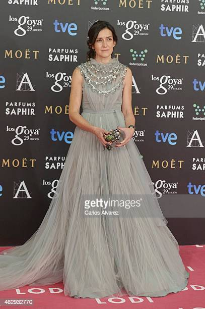 Angeles Gonzalez Sinde attends Goya Cinema Awards 2014 at Centro de Congresos Principe Felipe on February 7 2015 in Madrid Spain