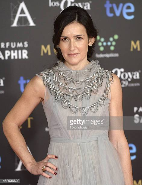 Angeles Gonzalez Sinde attends Goya Cinema Awards 2015 at Centro de Congresos Principe Felipe on February 7 2015 in Madrid Spain