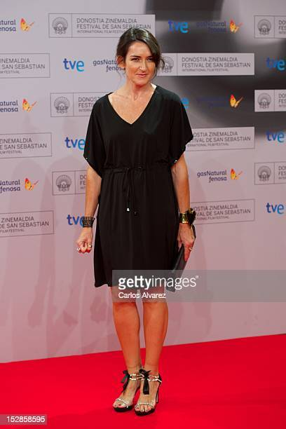 Angeles Gonzalez Sinde attends the Donosti ceremony at the Kursaal Palace during the 60th San Sebastian International Film Festival on September 27...
