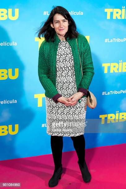Angeles GonzalezSinde attends 'La Tribu' premiere at the Capitol cinema on March 12 2018 in Madrid Spain