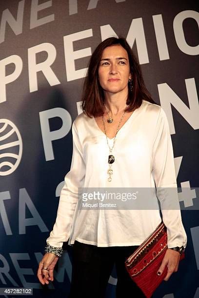 Angeles GonzalezSinde attends the '63th Premio Planeta' Literature Awards at the Palau de Congressos de Catalunya on October 15 2014 in Barcelona...
