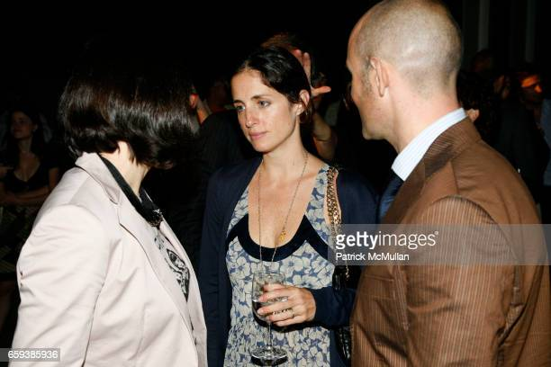 Angeles GonzalezSinde Carolina Herrera and Modesto Lomba attend MMODANY Spanish Fashion Collection Ana Locking Carmen March Juanjo Oliva Juan Duyos...