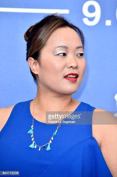 Angeles Woo attends the 'Zhuibu ' photocall during the 74th Venice Film Festival on September 8 2017 in Venice Italy