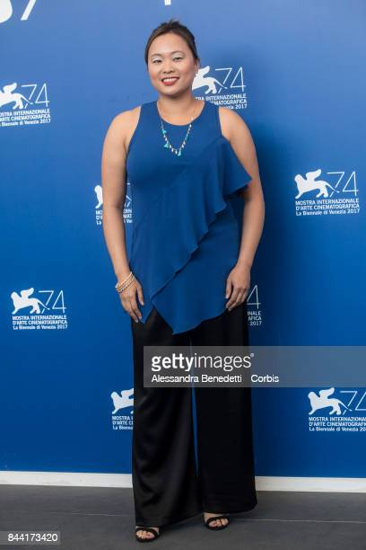 Angeles Woo attends the 'Zhuibu ' photocall during the 74th Venice Film Festival at Sala Casino on September 8 2017 in Venice Italy