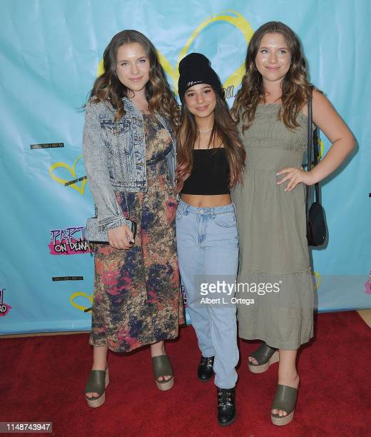Angelic and Dambrosio Twins attend the Release Party For Dani Cohn And Mikey Tua's Song Somebody Like You held at The Industry Loft on June 8 2019 in...