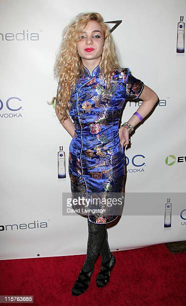 Angelica Andrews attends the eWorld Music Awards at The Conga Room at LA Live on January 27 2010 in Los Angeles California