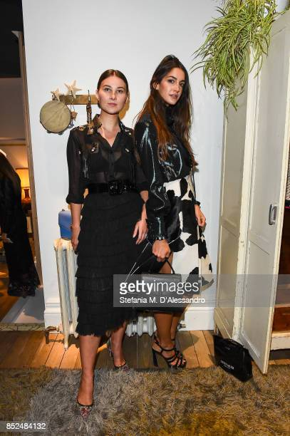 Angelica Ardasheva and Sara Rossetto attended the Bally SS18 Presentation in Milan 23rd September 2017 Italy