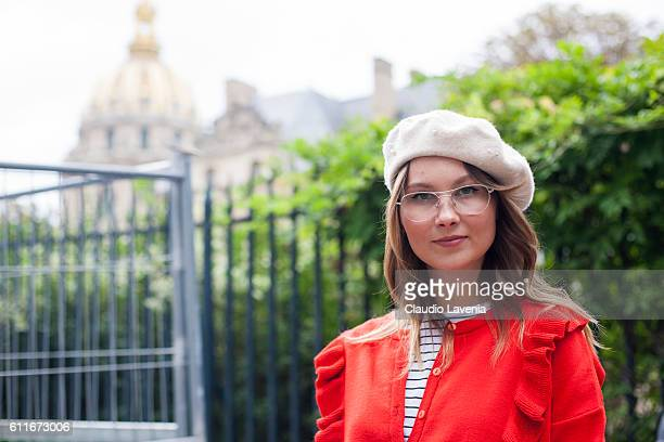 Angelica Ardasheva attends the Christian Dior show on day 4 of Paris Womens Fashion Week Spring/Summer 2017Êon September 30 2016 in Paris France