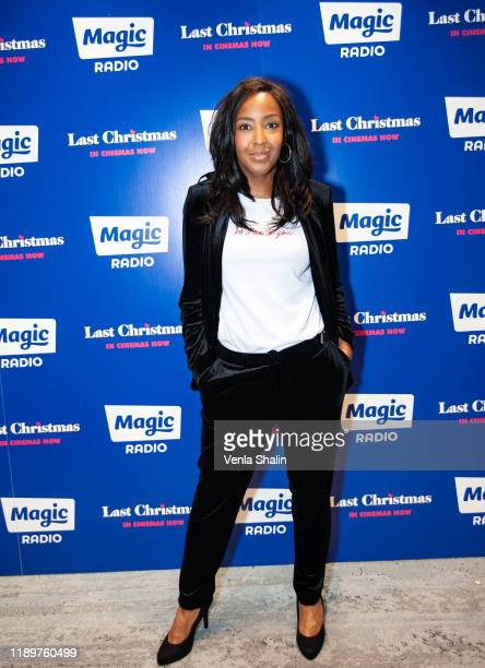 Angelica Bell attends Magic Radio's Magic of Christmas with 'Last Christmas' at London Palladium on November 24 2019 in London England