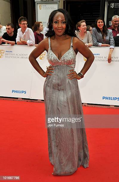 Angelica Bell attends the Philips British Academy Television Awards at London Palladium on June 6, 2010 in London, England.