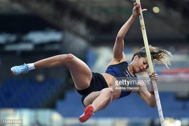 Angelica Bengtsson of Sweden competes in the women's pole vault at the IAAF Diamond League Golden Gala Angelica Bengtsson ranked first
