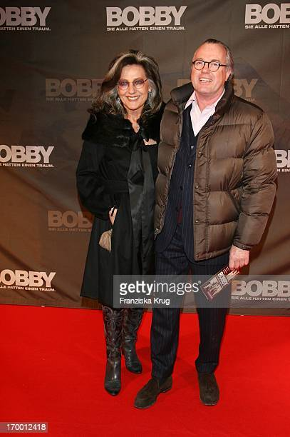 Angelica Blechschmidt And Reimer Clausen at The Premiere Of Cinema film 'Bobby' 020307