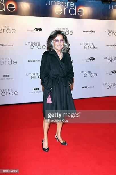 Angelica Blechschmidt Bei Der Premiere Von 'Unsere Erde' Im Cinestar In Berlin