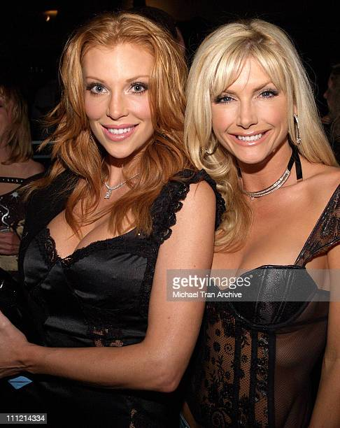 Angelica Bridges and Brande Roderick during Angelica Bridges Introduces Barlesk at The Cabana Club November 16 2005 at The Cabana Club in Hollywood...
