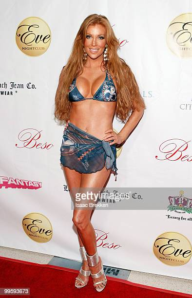 Angelica Bridges arrives at Eve nightclub at CityCenter on May 15 2010 in Las Vegas Nevada