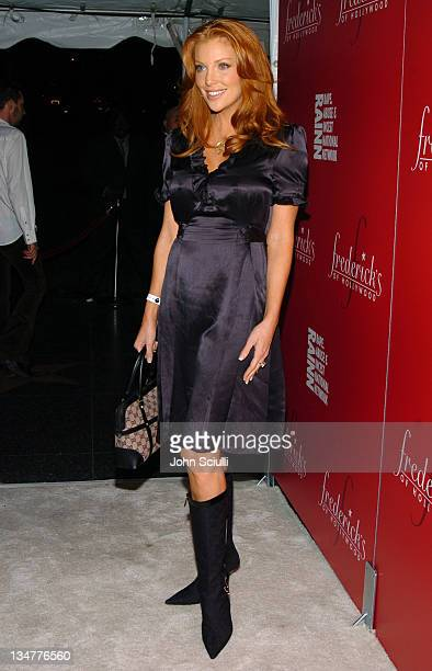 Angelica Bridges during 2nd Annual Lingerie Art Auction and Fashion Show Hosted by Fredericks of Hollywood Red Carpet at Hollywood Roosevelt Hotel in...