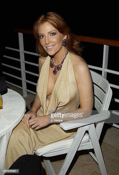 Angelica Bridges during Cannes 2002 De Grisogono Dinner at Hotel Du Cap in Cap d'Antibes France