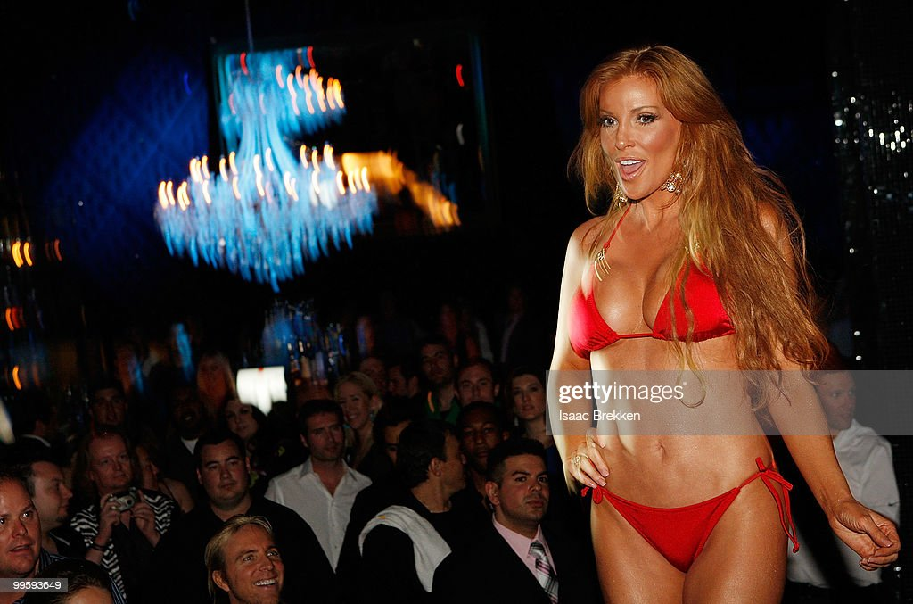 Angelica Bridges hosts a fashion show at Eve nightclub at CityCenter on May 15, 2010 in Las Vegas, Nevada.
