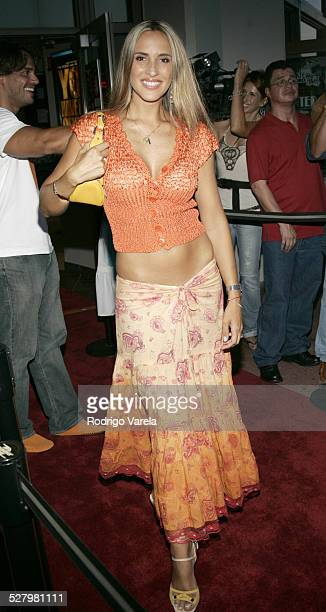 Angelica Castro during Matando Cabos Miami Screening August 20 2005 at Regal South Beach Cinema in Miami Beach Florida United States
