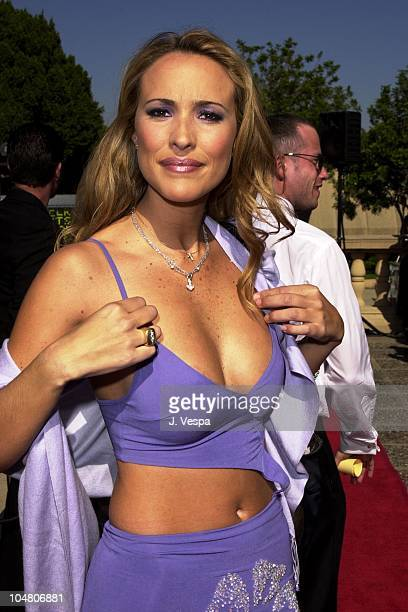 Angelica Castro during The 2001 ALMA Awards Arrivals at Pasadena Civic Auditorium in Pasadena California United States
