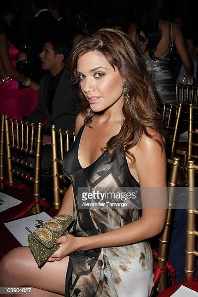 Angelica Celaya attends screening of Telemundo's Alguien Te Mira at The Biltmore Hotel on September 7 2010 in Coral Gables Florida