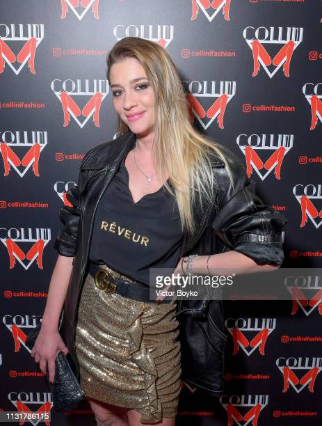 Angelica d'Amore attends Collini Unminimal Party Milan Fashion Week Autumn / Winter 2019/20 on February 20 2019 in Milan Italy