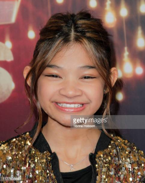 Angelica Hale attends the 'America's Got Talent The Champions' Finale at Pasadena Civic Auditorium on October 17 2018 in Pasadena California