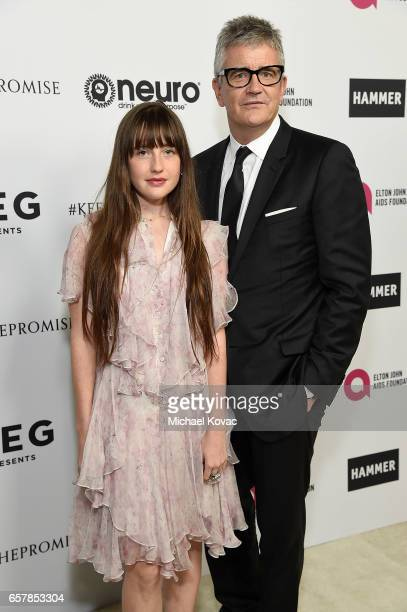 Angelica Jopling and art dealer Jay Jopling celebrate Elton John's 70th Birthday and 50Year Songwriting Partnership with Bernie Taupin benefiting the...