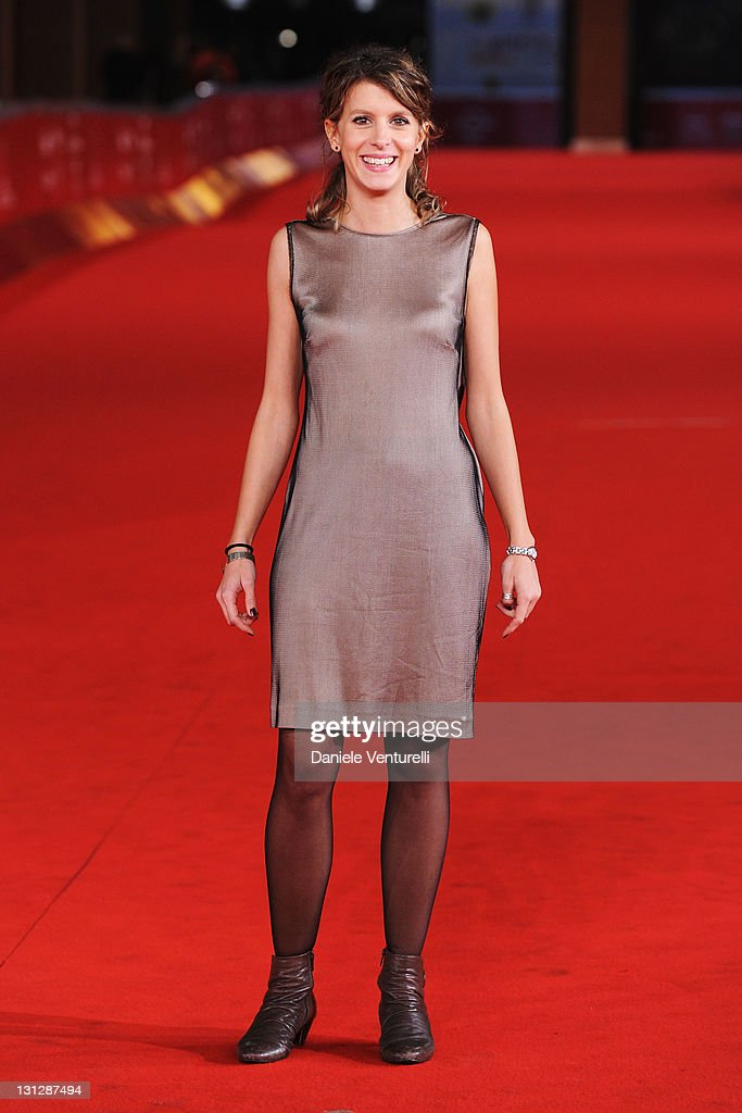 Angelica Leo attends the Officine Artistiche during the 6th International Rome Film Festival at Auditorium Parco Della Musica on November 3, 2011 in Rome, Italy.