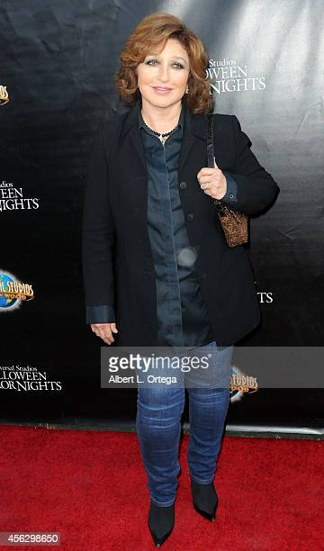 Angelica Maria arrives for Universal Studios Hollywood 'Halloween Horror Nights' Kick Off With The Annual 'Eyegore Awards' held at Universal Studios...
