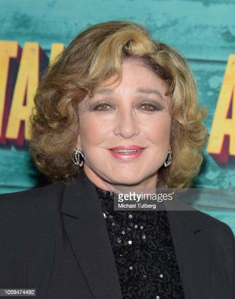 Angelica Maria attends the Los Angeles opening night performance of 'A Bronx Tale' at the Pantages Theatre on November 8 2018 in Hollywood California