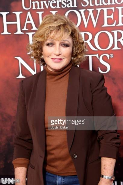 Angelica Maria attends the Universal Studios Halloween Horror Nights Opening Night at Universal Studios Hollywood on September 15 2017 in Universal...