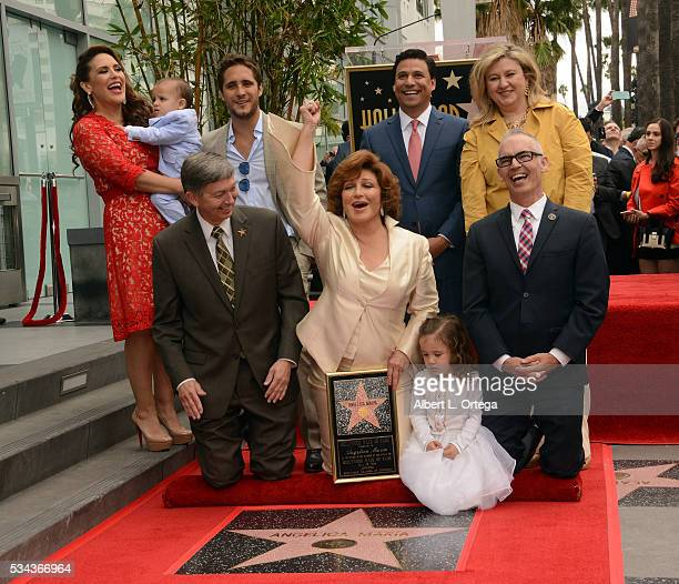Angelica Maria Honored With Star On The Hollywood Walk Of Fame on May 25 2016 in Hollywood California