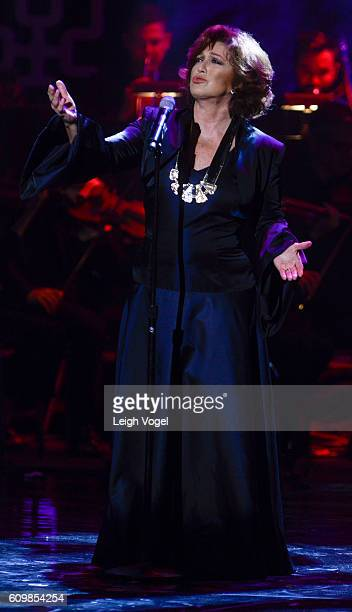 Angelica Maria performs during the 29th Hispanic Heritage Awards at the Warner Theatre on September 22 2016 in Washington DC