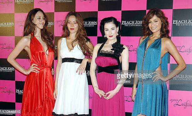 Angelica Michibata Jessica Michibata Dita Von Teese and Kelly