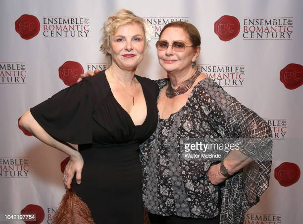 Angelica Page and Elizabeth Ashley attend the Opening Night Party for 'Because I Could Not Stop An Encounter with Emily Dickinson' at the West Bank...