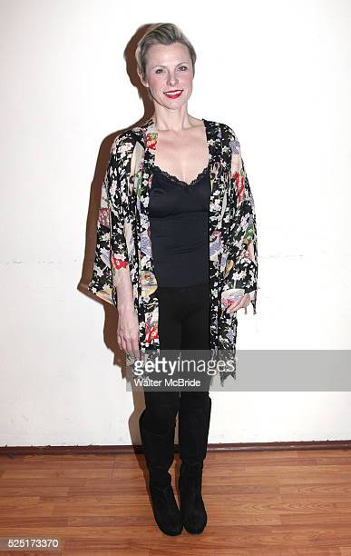 Angelica Page attending the Meet Greet the cast of 'Psycho Therapy' at Shelter Studios in New York City 1/9/2012