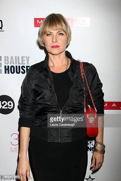 Angelica Page attends the 2013 Bailey House Fundraiser at LQNY on September 27 2013 in New York City