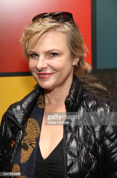 Angelica Page attends the Broadway Family invite to The Final Dress Rehearsal Of Harvey Fierstein's 'Torch Song' on October 8 2018 at the Hayes...