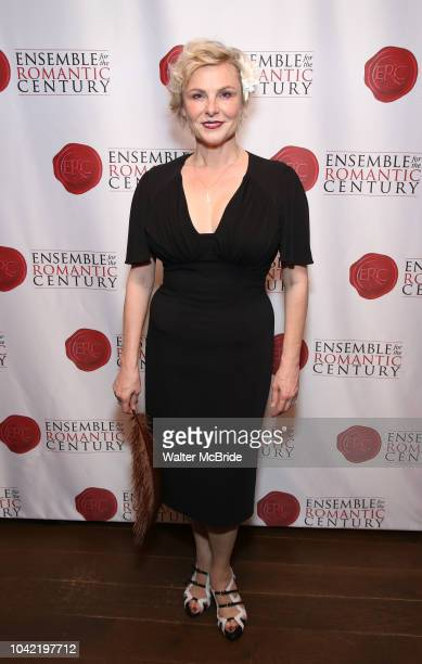 Angelica Page attends the Opening Night Party for 'Because I Could Not Stop An Encounter with Emily Dickinson' at the West Bank Cafe on September 27...