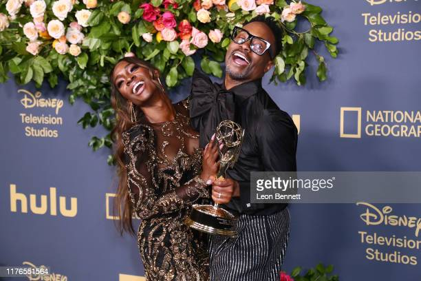 Angelica Ross and Billy Porter attend Walt Disney Television Emmy Party on September 22 2019 in Los Angeles California