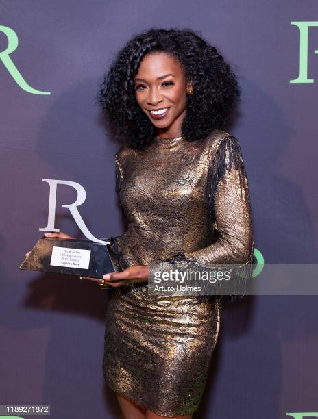 Angelica Ross attends 2019 ROOT 100 Gala at The Angel Orensanz Foundation on November 21 2019 in New York City