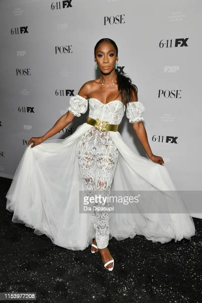 Angelica Ross attends FX Network's Pose season 2 premiere on June 05 2019 in New York City