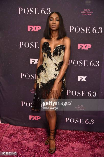 Angelica Ross attends the 'Pose' New York Premiere at Hammerstein Ballroom on May 17 2018 in New York City