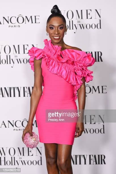 Angelica Ross attends the Vanity Fair and Lancôme Women in Hollywood celebration at Soho House on February 06 2020 in West Hollywood California