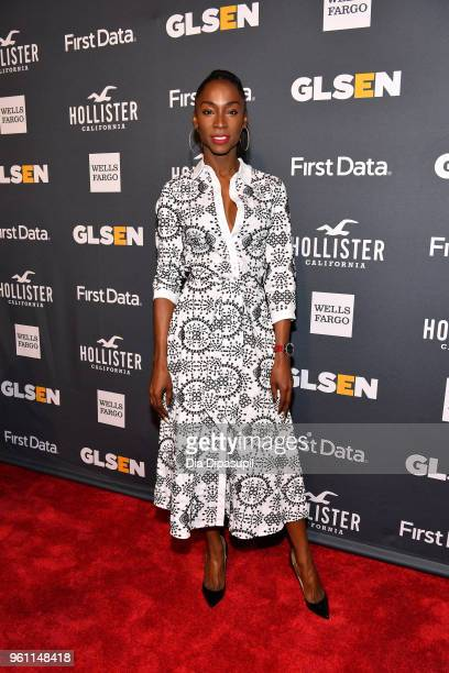 Angelica Ross of Pose attends the GLSEN 2018 Respect Awards at Cipriani 42nd Street on May 21 2018 in New York City